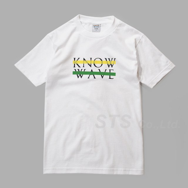 Know Wave - Chest Logo JAH T-Shirt