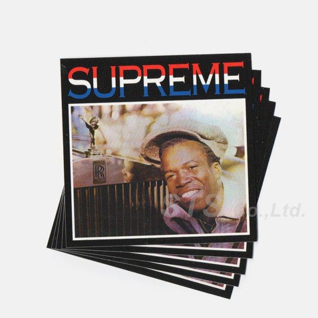 【Dead Stock】Supreme - Barrington Levy & Jah Life Englishman Sticker