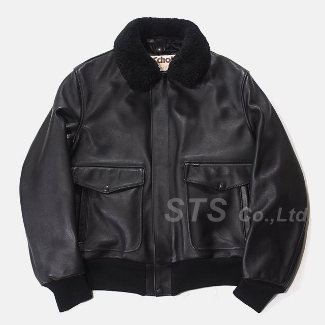 Supreme/Schott Leather A-2 Fight Jacket