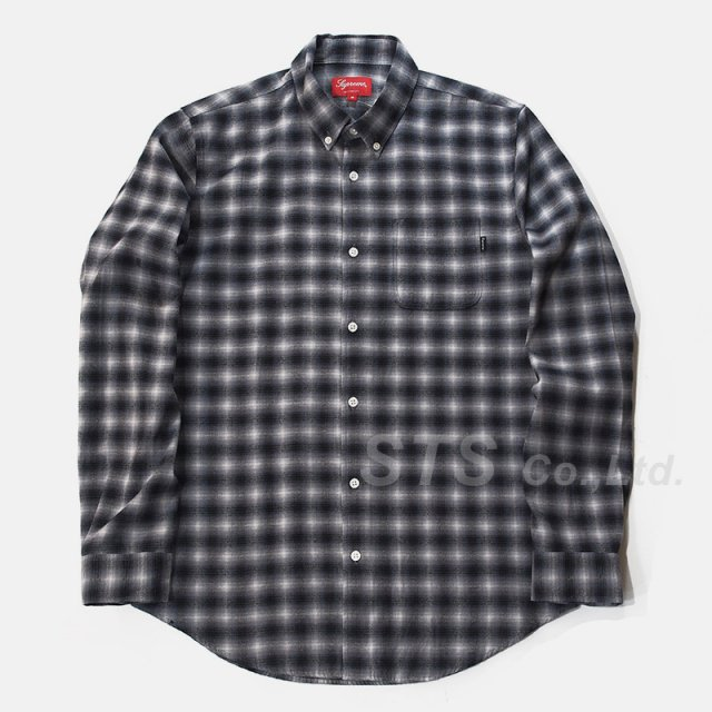 Supreme - Mini Shadow Plaid Shirt