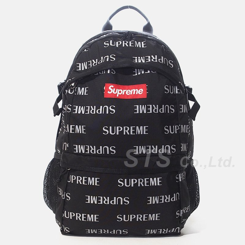 Supreme - 3M Reflective Repeat Backpack