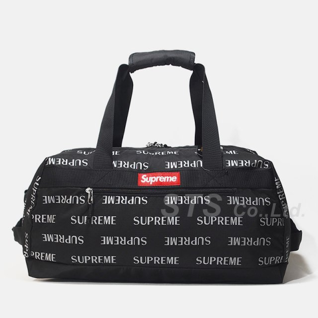 Supreme - 3M Reflective Repeat Duffle Bag