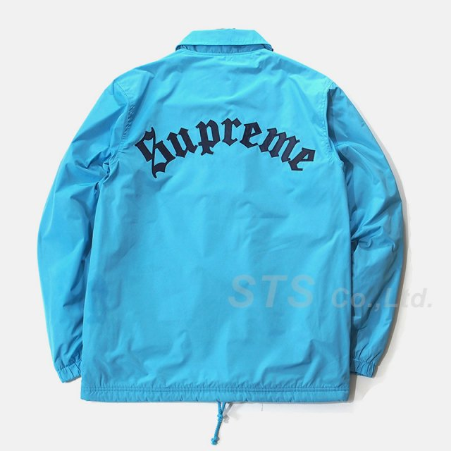 Supreme - Old English Coaches Jacket
