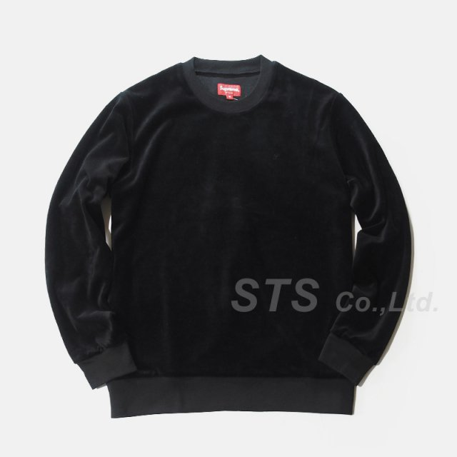 Supreme - Velour Crewneck