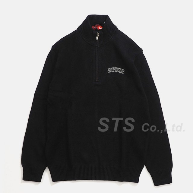Supreme - Half Zip Mock Neck Sweater