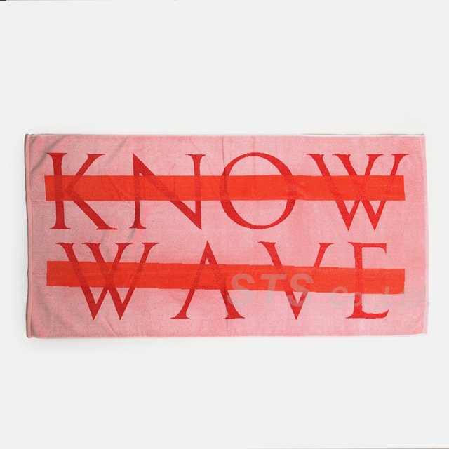 Know Wave - Pink Wavelength Towel