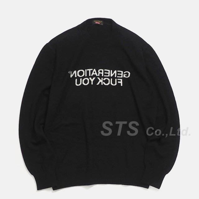 Supreme/UNDERCOVER Generation Fuck You Sweater