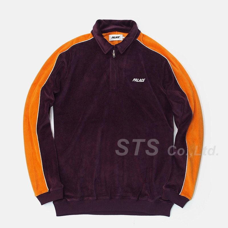 Palace Skateboards - Velour Half Zip