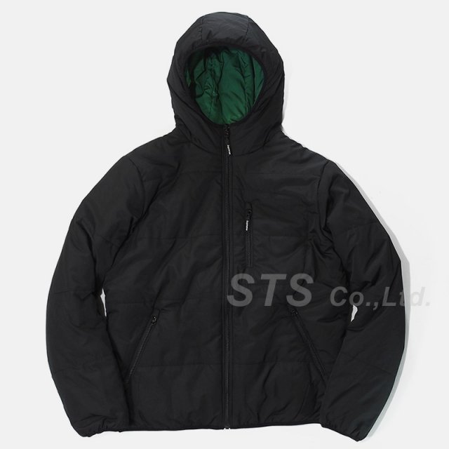 Supreme - Reversible Hooded Puffy Jacket