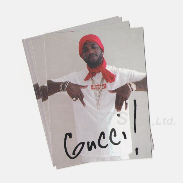 Supreme - Gucci Mane Sticker