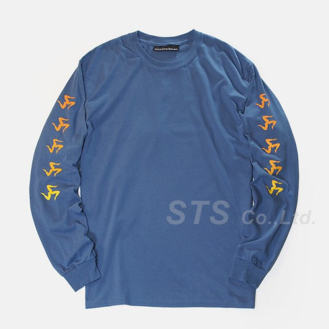 Nine One Seven - Gradient Legs Long Sleeve Tee