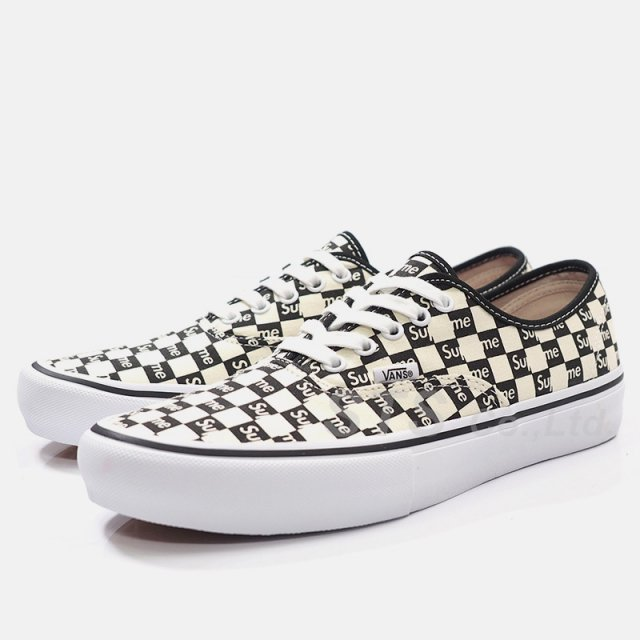 Supreme/Vans Checker Logo Authentic