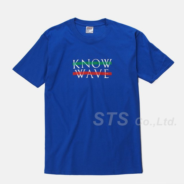 Know Wave - Blue Wavelength T-Shirt