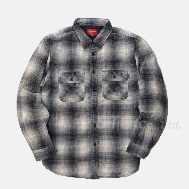 Supreme - Quilted Shadow Plaid Shirt