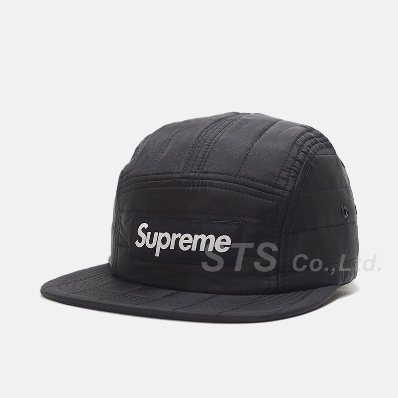 Supreme - Taffeta Quilted Camp Cap