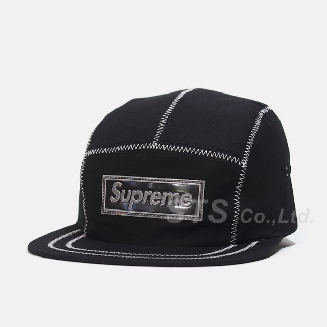 Supreme - Contrast Stitch Camp Cap