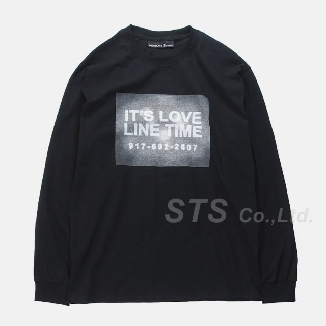 Nine One Seven - Love Line Long Sleeve T-Shirt