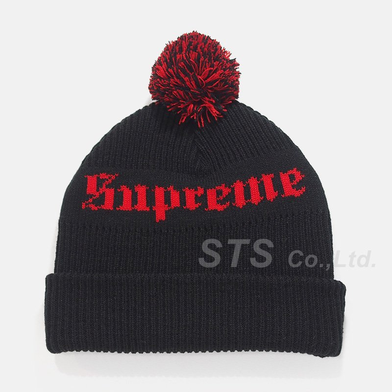 Supreme - Old English Beanie