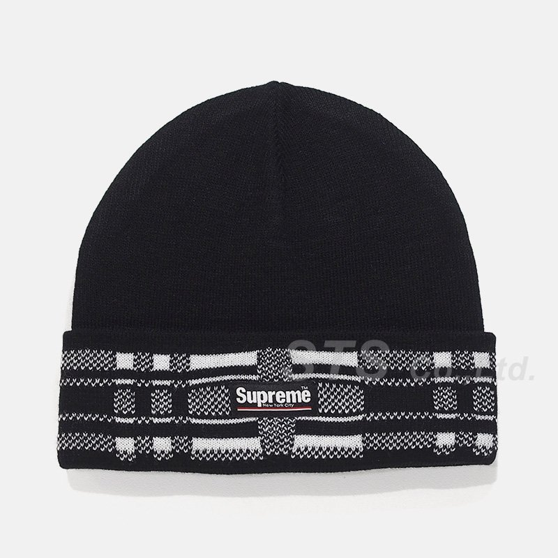 Supreme - Plaid Cuff Beanie