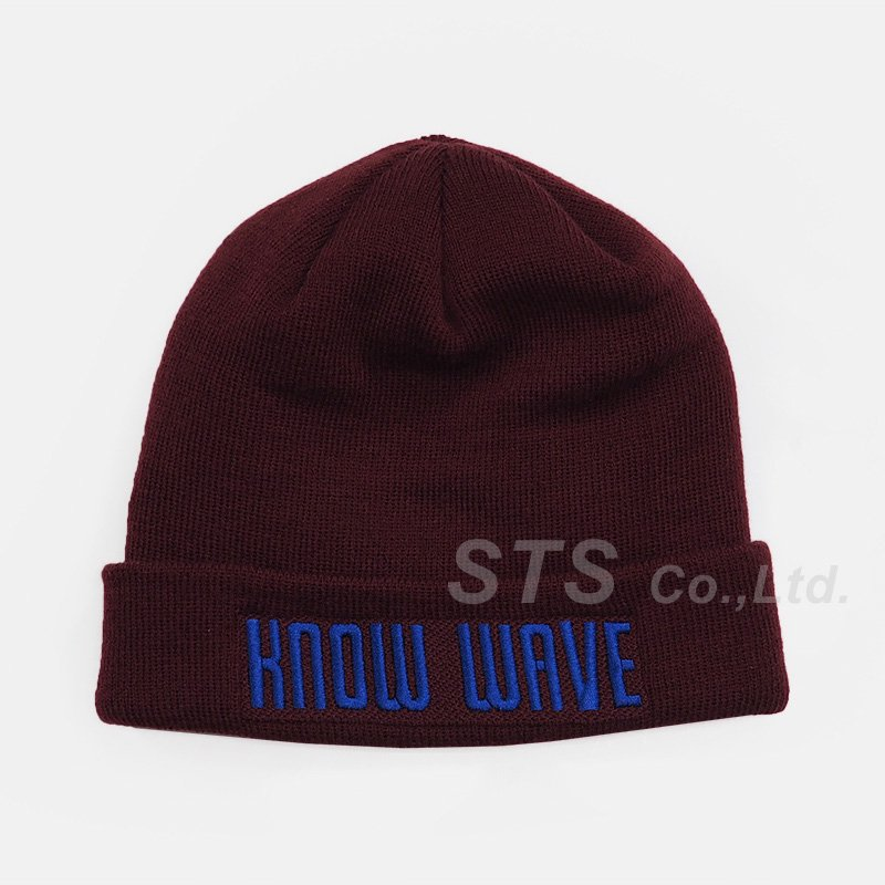 Know Wave - No. KW121316 Record Logo Beanie