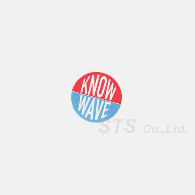 Know Wave - Round Logo Sticker