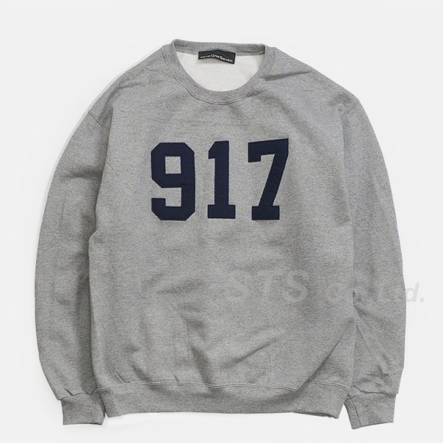 Nine One Seven - Varsity Applique Crew Neck Sweatshirt