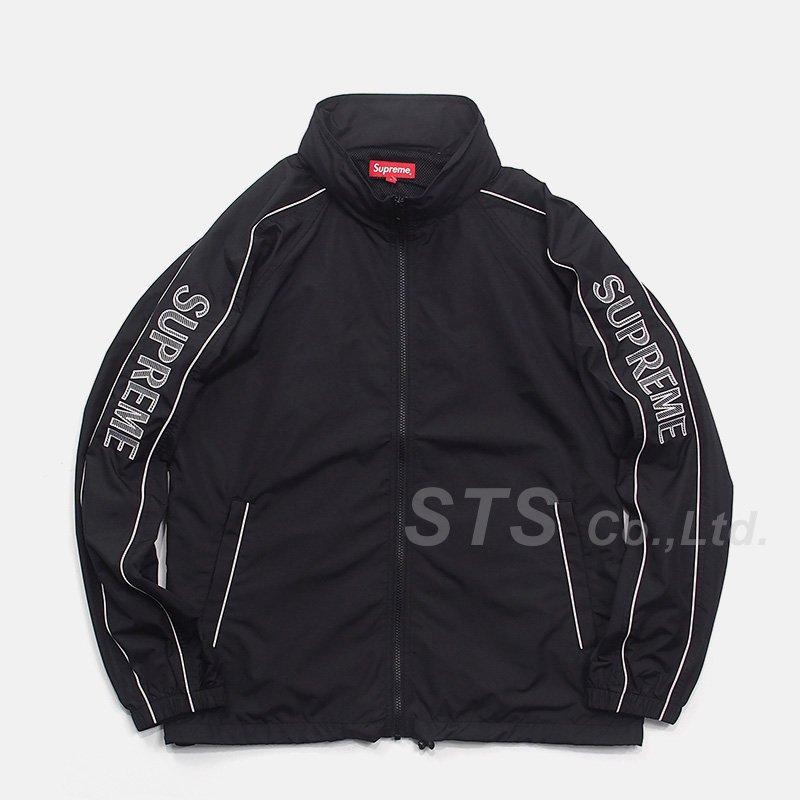 finest selection e0a67 43824 Supreme - Striped Logo Windbreaker