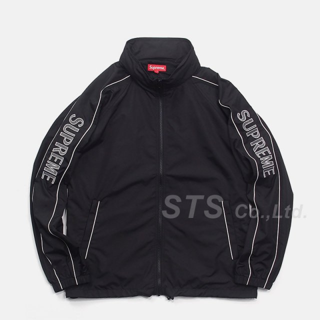 Supreme - Striped Logo Windbreaker