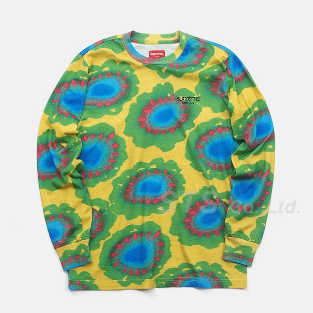 Supreme - Painted Flowers L/S Tee