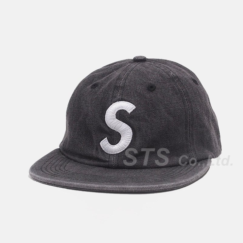 Supreme - Washed Denim S Logo 6-Panel