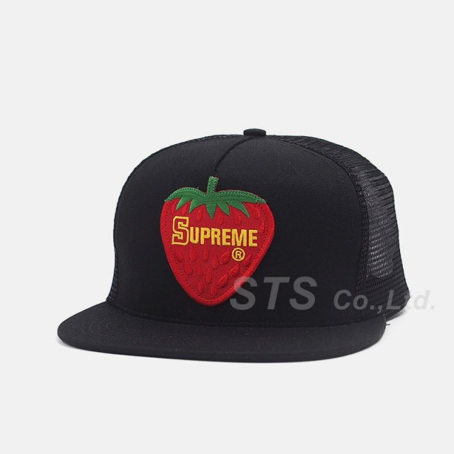 Supreme - Strawberry Mesh Back 5-Panel
