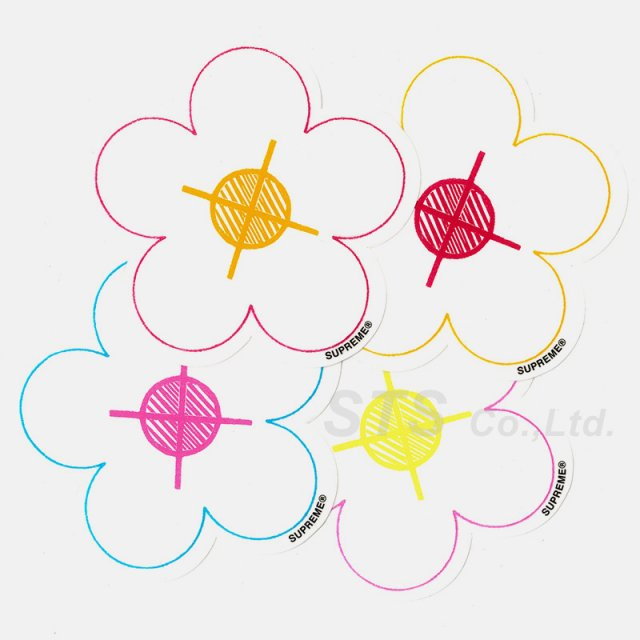 Supreme - Flowers Sticker