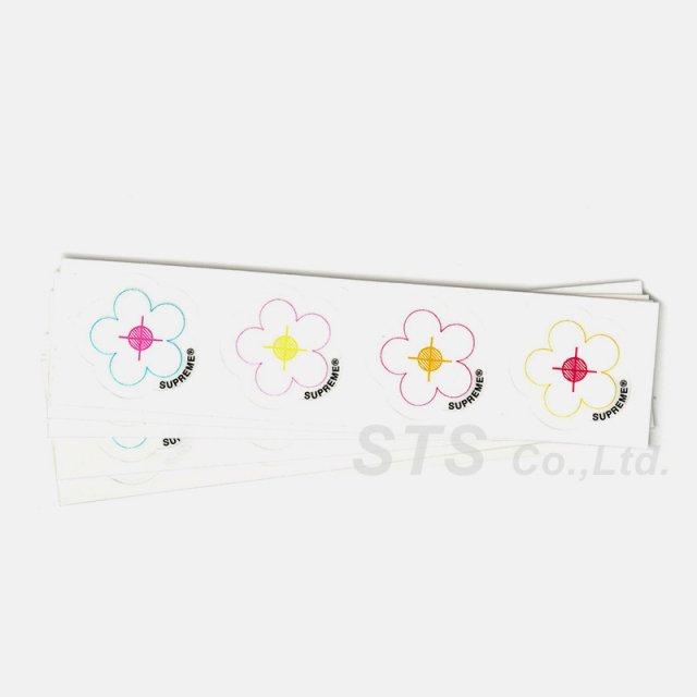 Supreme - Small Flowers Sticker Sheet