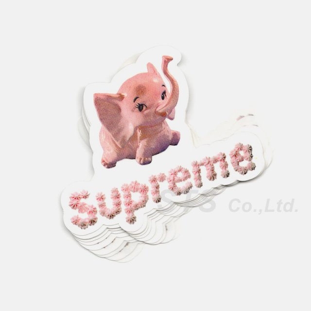 【Dead Stock】Supreme - Elephant Sticker