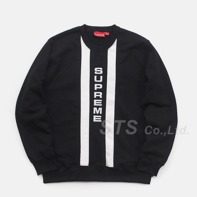 Supreme - Vertical Logo Panel Crewneck
