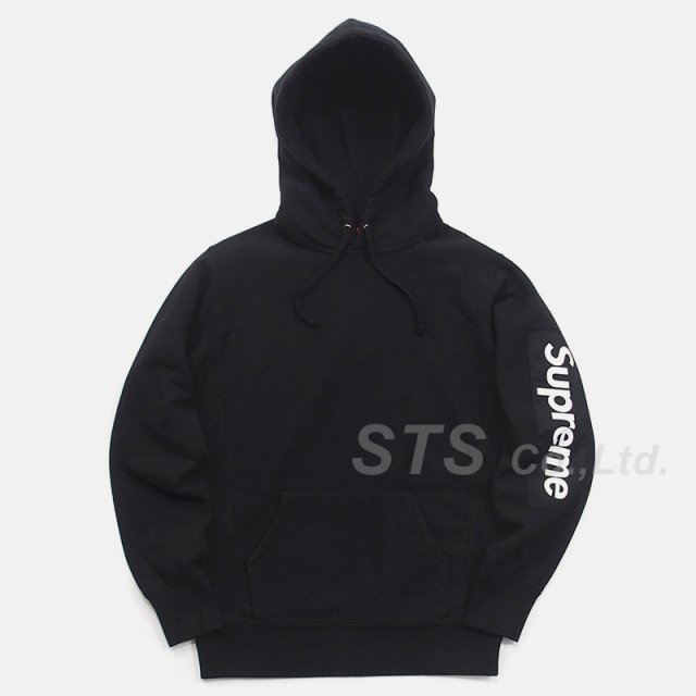 Supreme - Sleeve Patch Hooded Sweatshirt