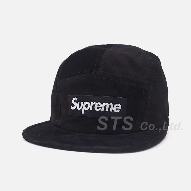 Supreme - Suede Camp Cap