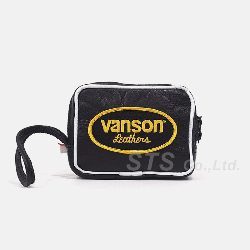 Supreme/Vanson Leather Wrist Bag