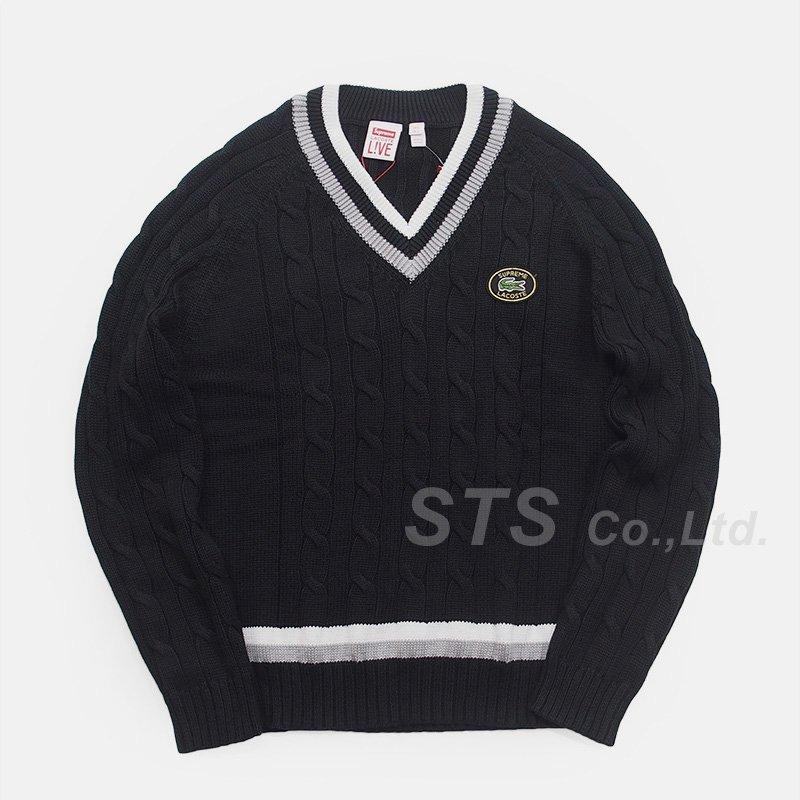 【SALE】Supreme/LACOSTE Tennis Sweater