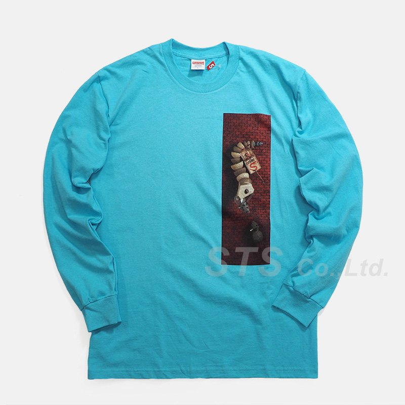 Supreme - Mike Hill Snake Trap L/S Tee