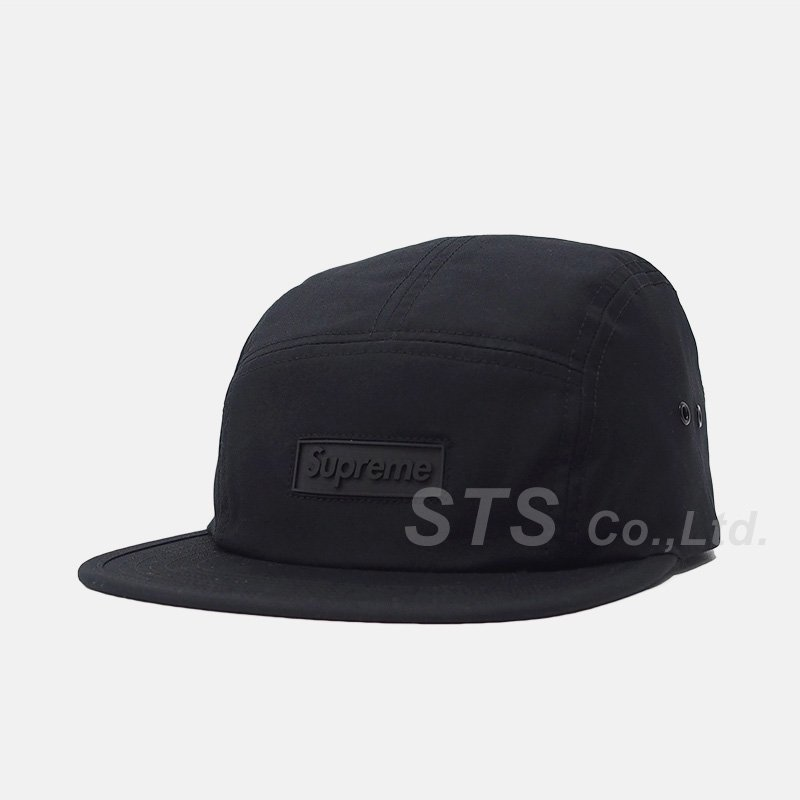 Supreme - Rubber Logo Camp Cap