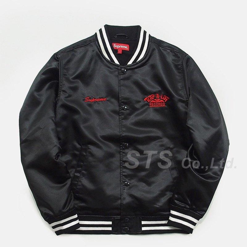 Supreme/Rap-A-Lot Record Satin Club Jacket