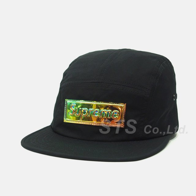 Supreme - Iridescent Logo Camp Cap