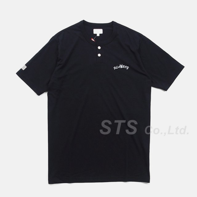 Supreme/Playboy S/S Henley Top