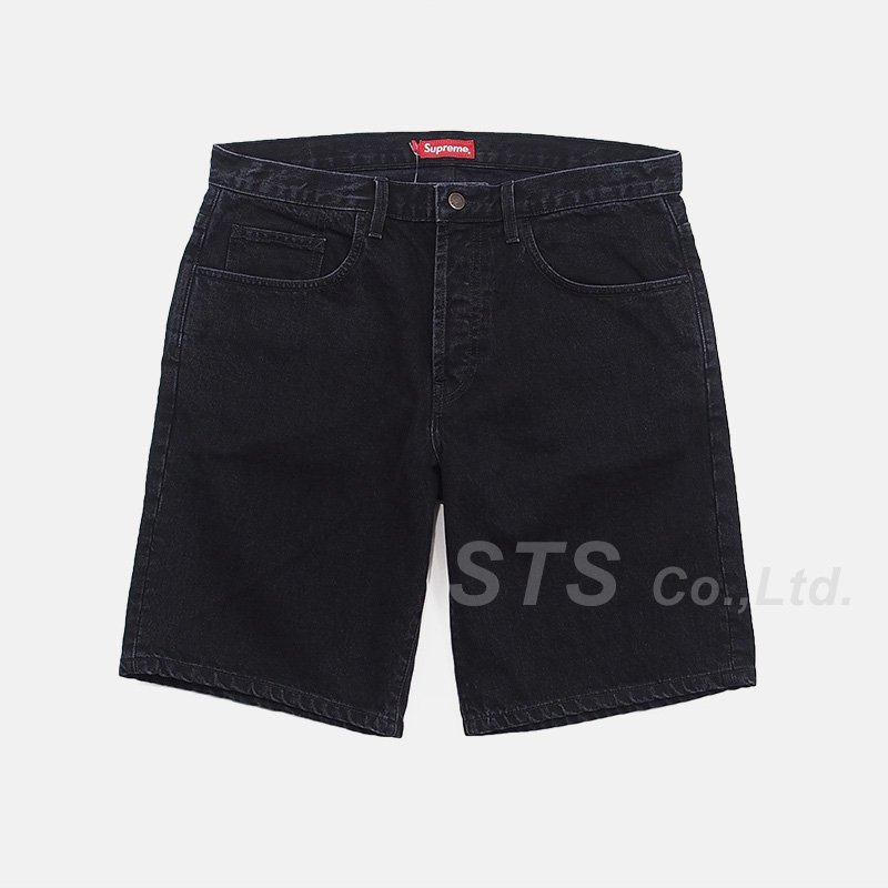 Supreme - Washed Denim Short