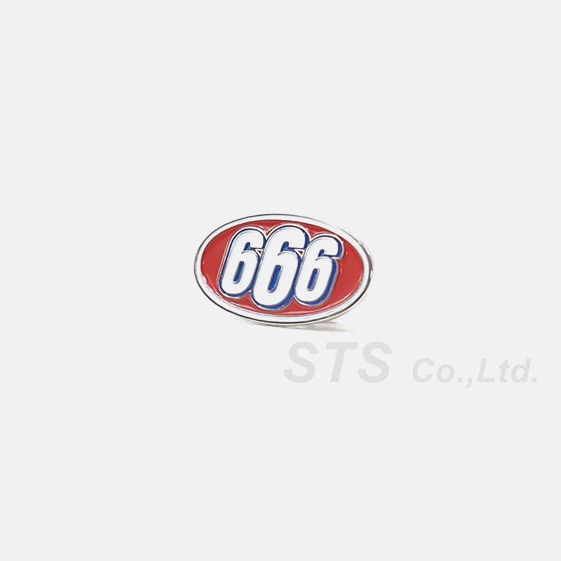 Supreme - 666 Oval Pin