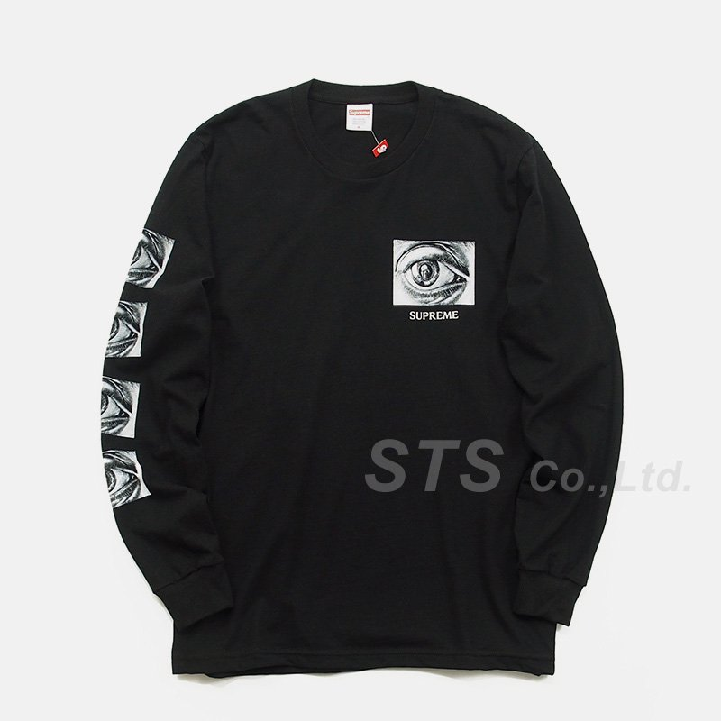Supreme - M.C. Escher Eye L/S Tee