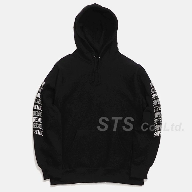 Supreme - Sleeve Arc Hooded Sweatshirt