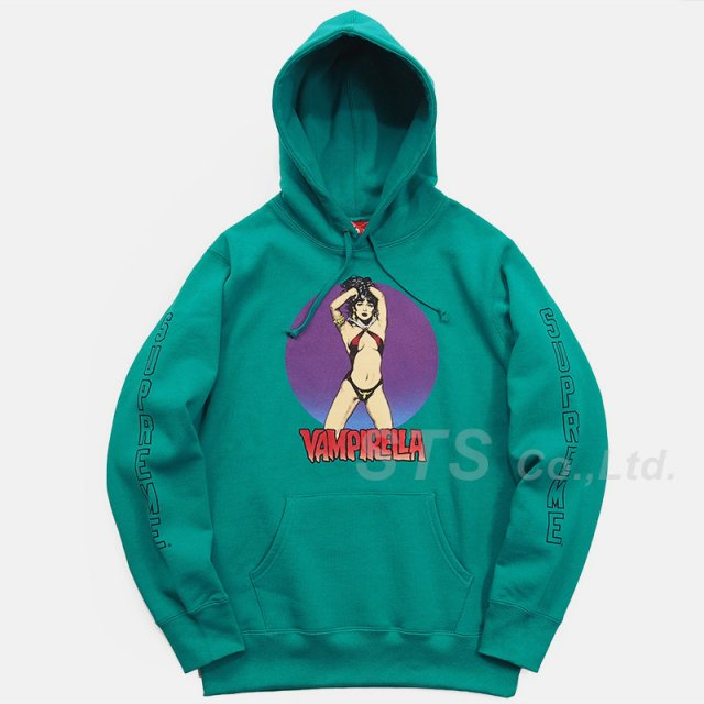 Supreme - Vampirella Hooded Sweatshirt