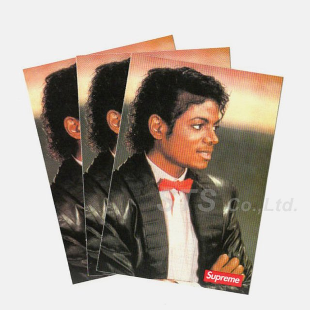 Supreme - Michael Jackson Sticker